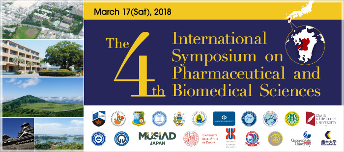 The 4th International  Symposium on Pharmaceutical and Biomedical Sciences