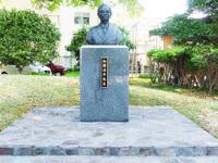 加瀬佳年先生胸像顕彰碑除幕式について