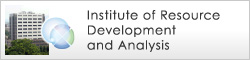 Institute of Resource Development and Analysis