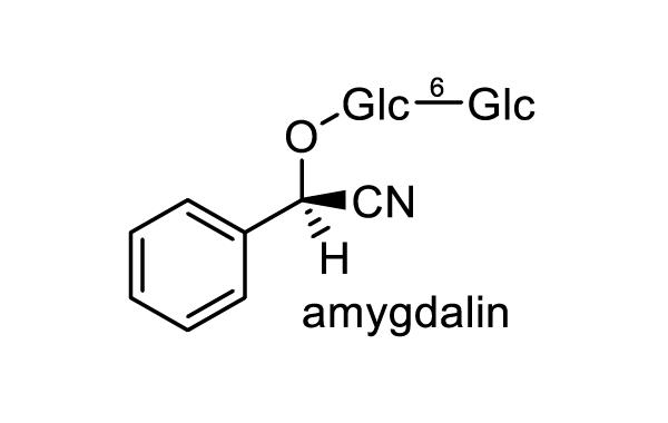 アンズ 化学構造式1