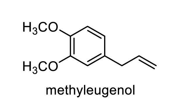 ウスバサイシン 化学構造式1