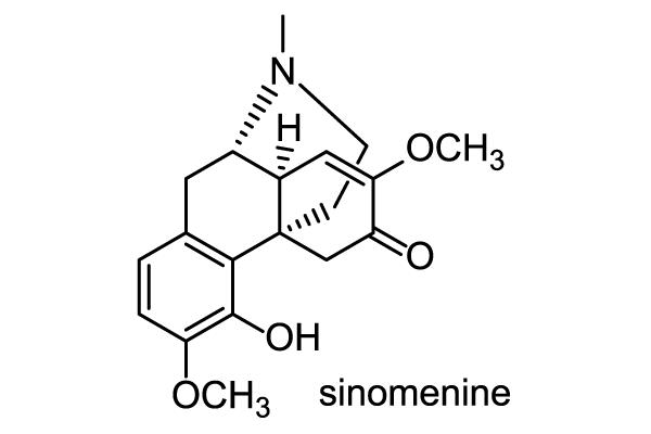 オオツヅラフジ 化学構造式1