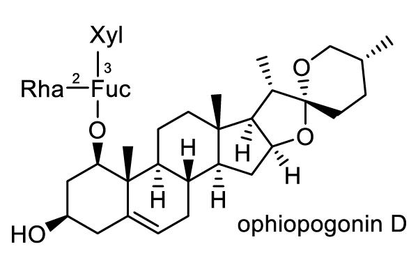 オニユリ 化学構造式1