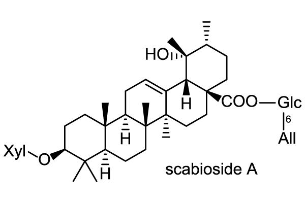 オミナエシ 化学構造式1
