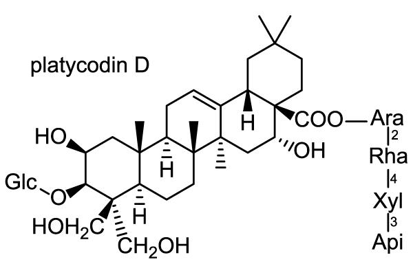 キキョウ 化学構造式1
