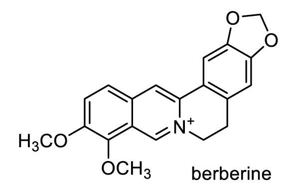 キハダ 化学構造式1