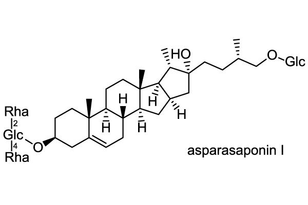 クサスギカズラ 化学構造式1