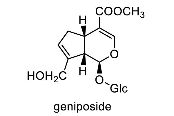 クチナシ 化学構造式1