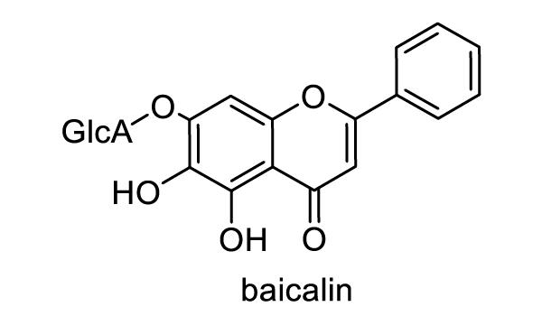 コガネバナ 化学構造式1
