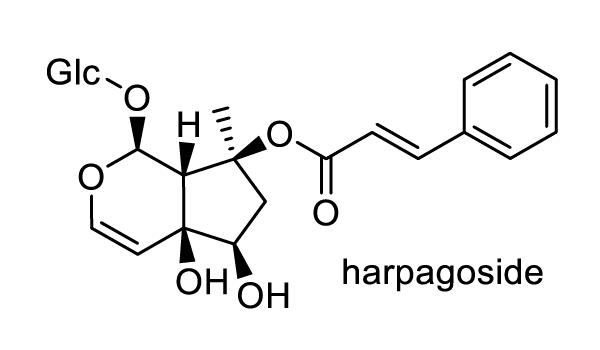 ゴマノハグサ 化学構造式1