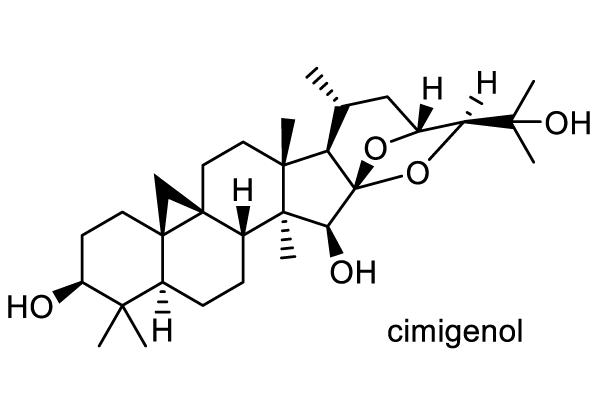 サラシナショウマ 化学構造式1