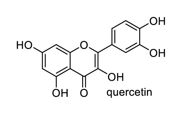 サンザシ 化学構造式1