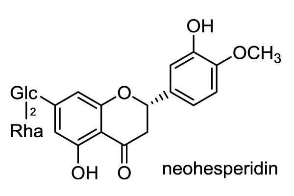 ダイダイ 化学構造式1