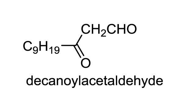 ドクダミ 化学構造式1