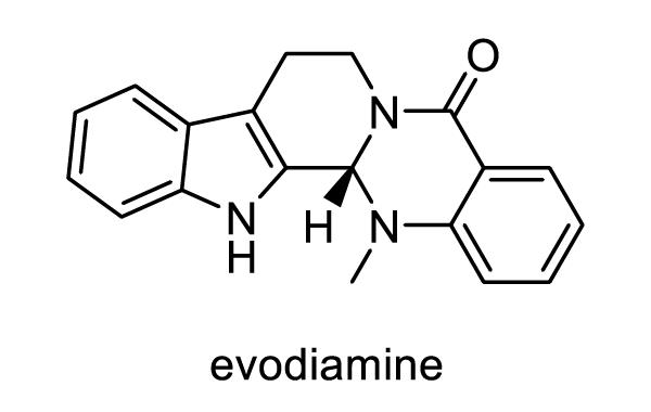 ホンゴシュユ 化学構造式1