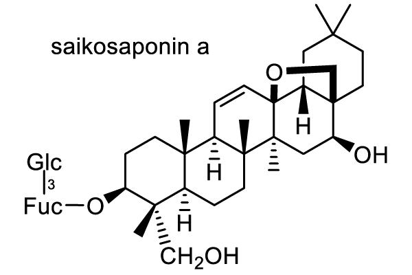ミシマサイコ 化学構造式1