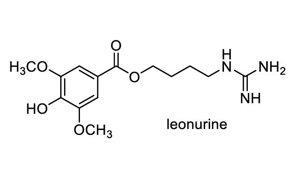メハジキ 化学構造式1