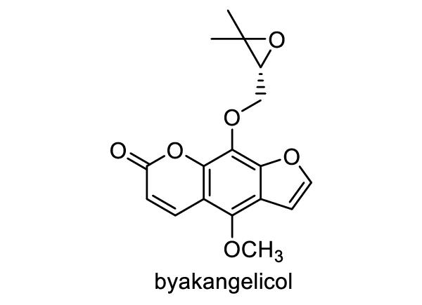 ヨロイグサ 化学構造式1