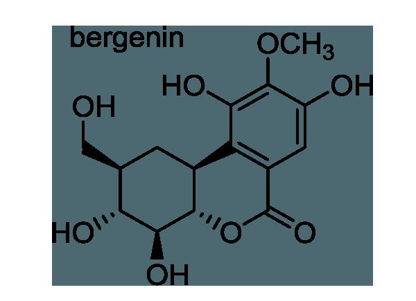 アカメガシワ 化学構造式1
