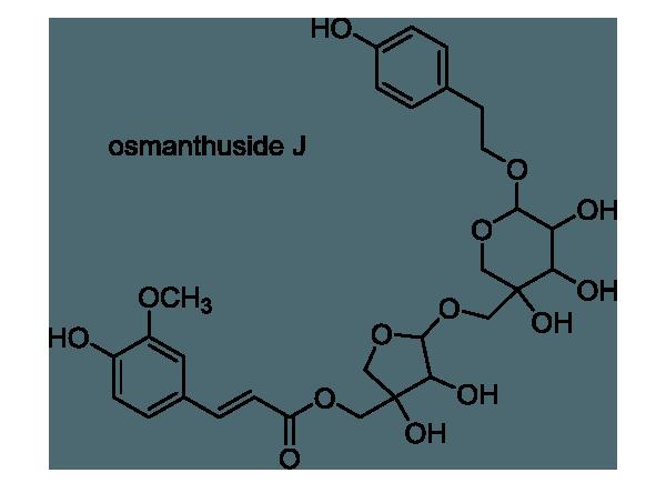 アサガオ 化学構造式1