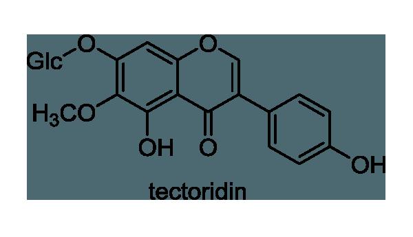 イチハツ 化学構造式1