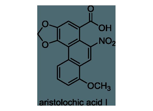 ウマノスズクサ 化学構造式1