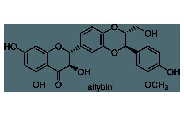 オオアザミ 化学構造式1