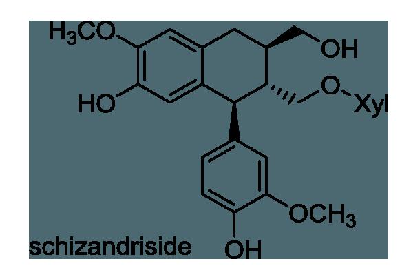 カガミグサ 化学構造式1
