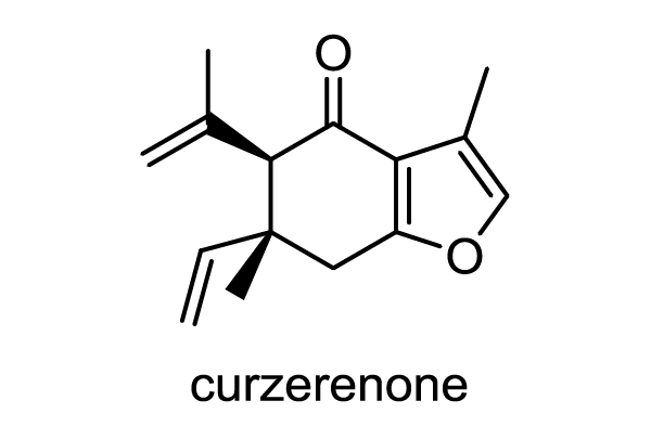 ガジュツ 化学構造式1