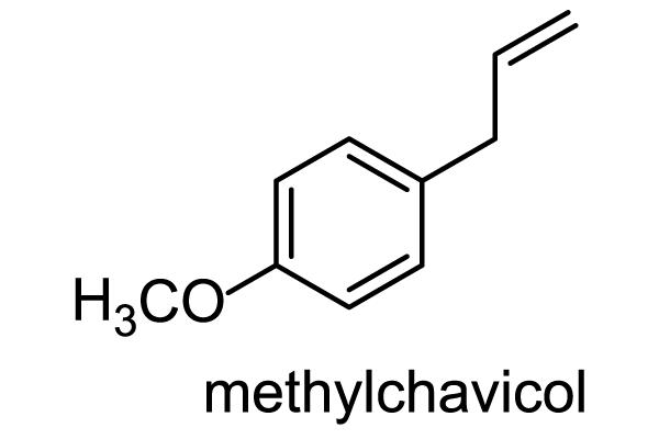カワミドリ 化学構造式1