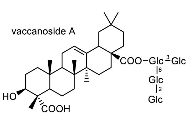 カワラナデシコ 化学構造式1