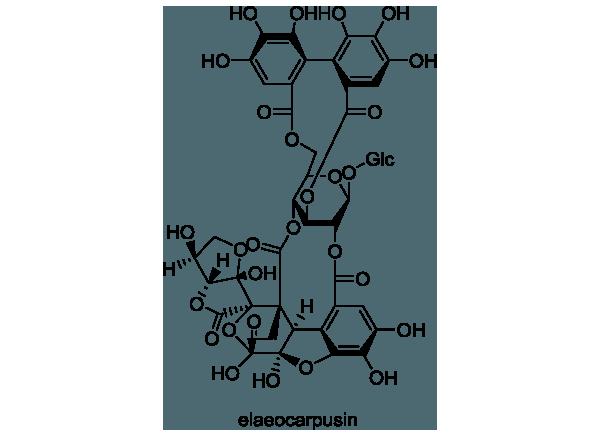ゲンノショウコ 化学構造式1