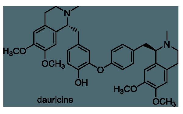 コウモリカズラ 化学構造式1