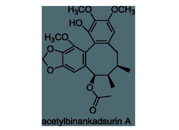 サネカズラ 化学構造式1