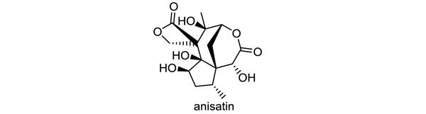 シキミ 化学構造式1