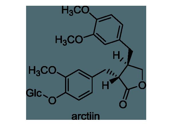シナレンギョウ 化学構造式1