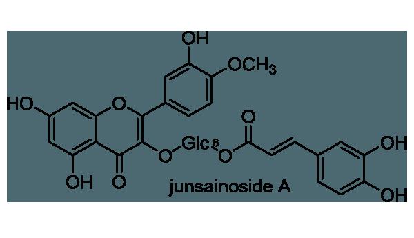 ジュンサイ 化学構造式1