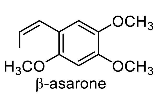 ショウブ 化学構造式1