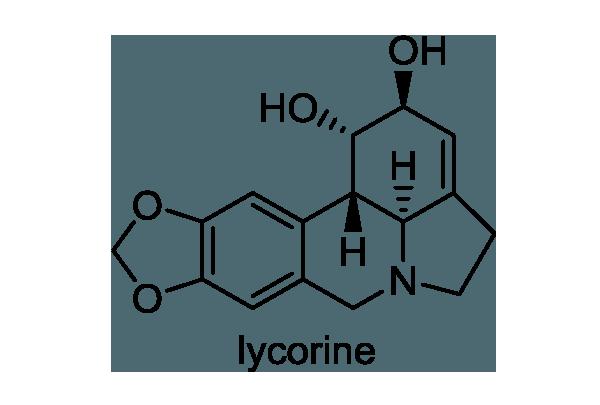 スイセン 化学構造式1