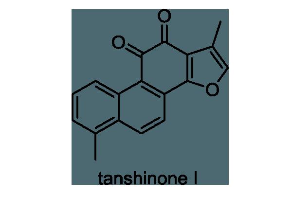 タンジン 化学構造式1
