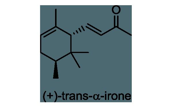 ドイツアヤメ 化学構造式1