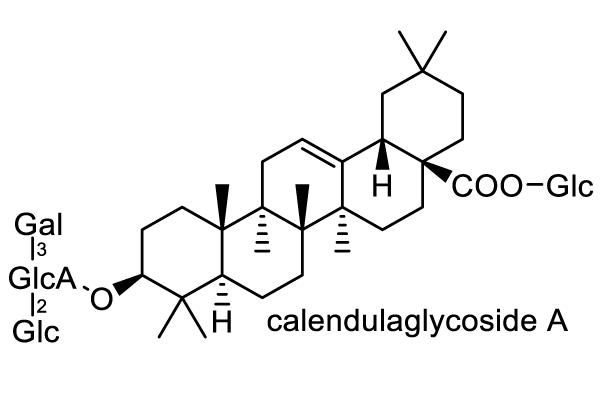 トウキンセンカ 化学構造式1