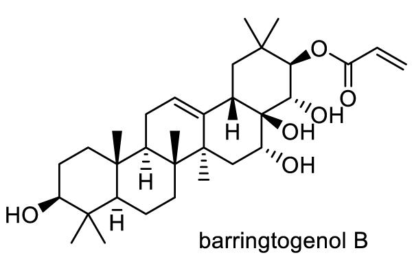 トベラ 化学構造式1