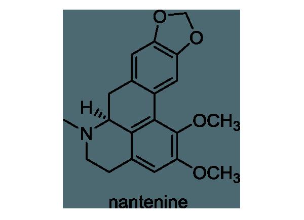ナンテン 化学構造式1