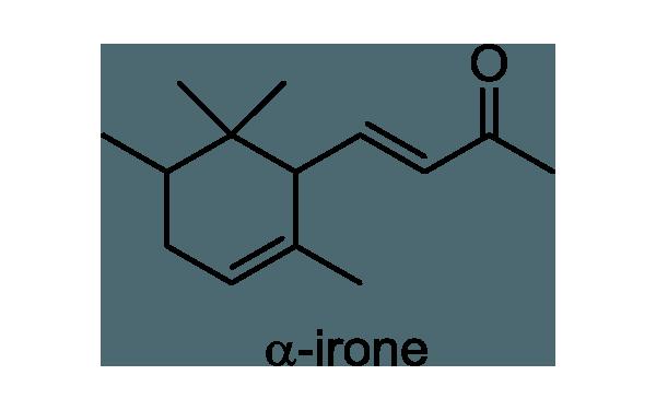 ニオイアヤメ 化学構造式1