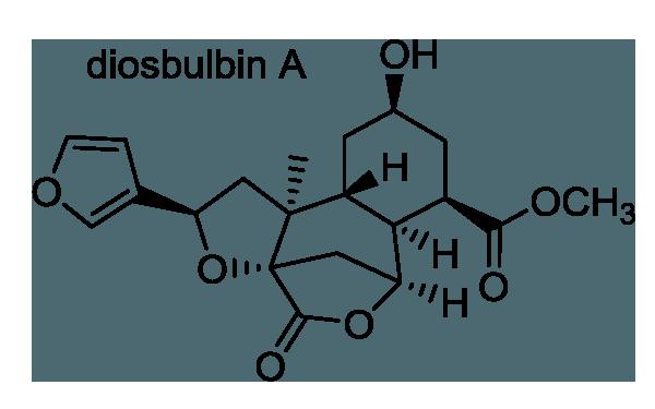 ニガカシュウ 化学構造式1