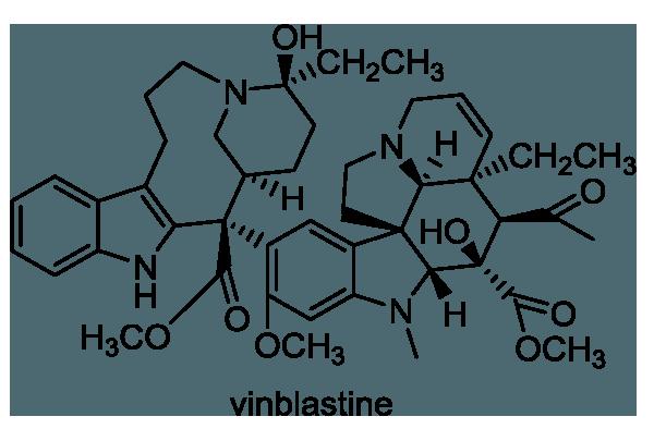 ニチニチソウ 化学構造式1