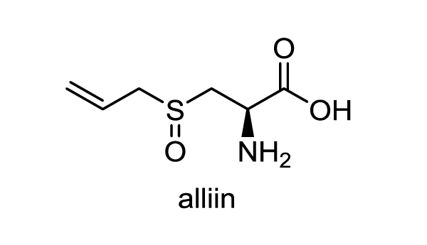 ニンニク 化学構造式1