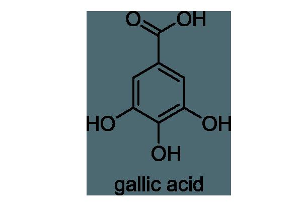 ヌルデ 化学構造式1