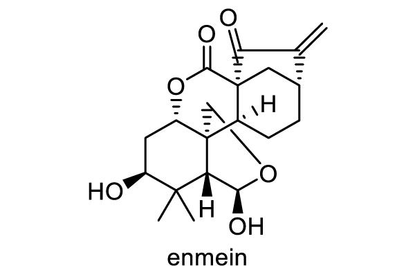 ヒキオコシ 化学構造式1